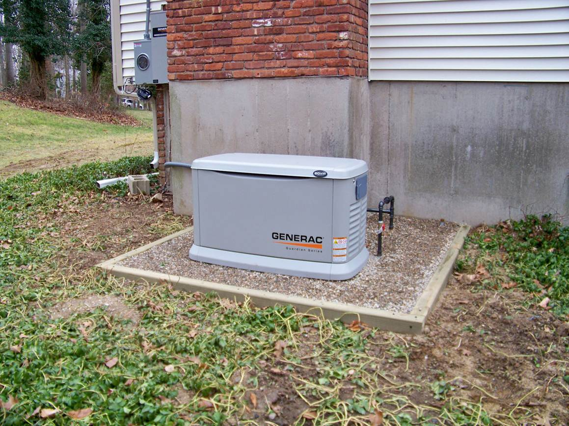 Whole House Generator Installation : Mygoals for this installation