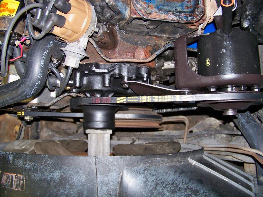 C Belts on 1969 Mustang Power Steering Hose Diagram